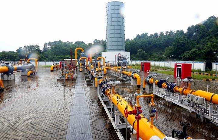 汉中汉南线天然气管道全线贯通取得重大突破