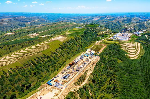 我国第一大油气田建成16个日产千吨级主力油区
