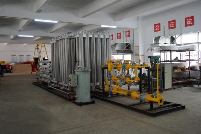 亚威华工厂LNG点供设备生产活动图片(2017)