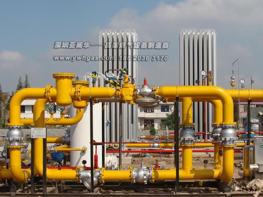 亚威华LNG亚搏在线登录气化撬二