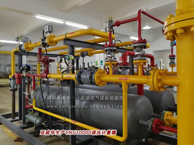 亚威华生产CNG10000亚搏在线登录计量撬 三