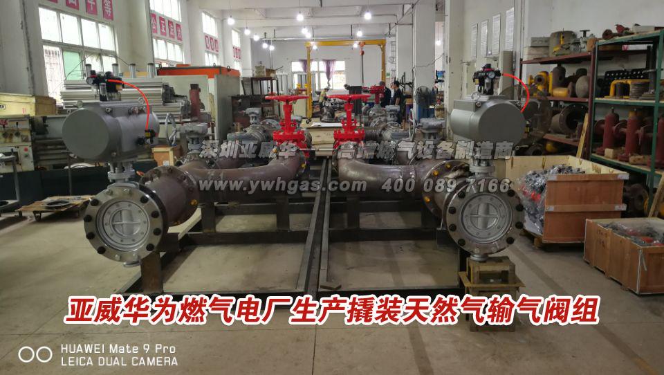 亚威华生产撬装天然气输气阀组(亚搏体育网站电厂)