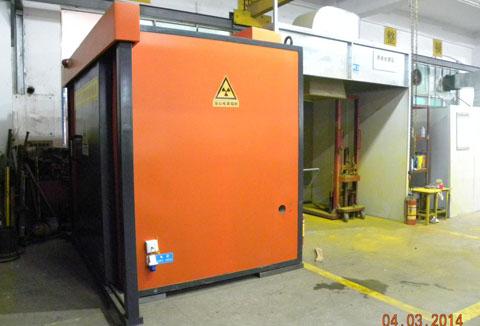 工厂新增X射线探伤房