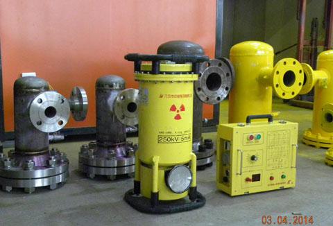 2505射线机对焊缝检测
