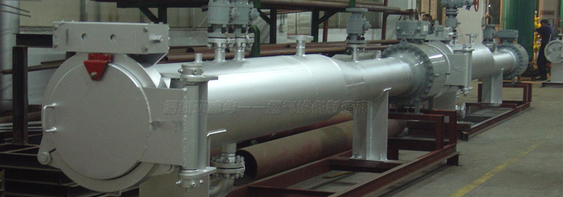 亚威华生产收发球筒和亚搏体育网站管道清管器