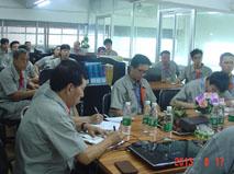 亚威华公司技术会议照片
